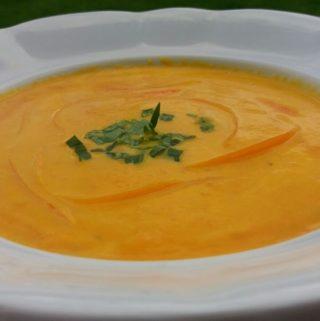 Famózní mrkvová polévka