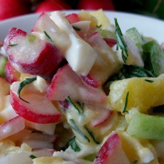 Jarní inspirace – ředkvičkový salát
