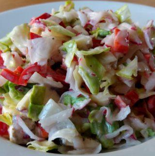 Rychlý letní salát