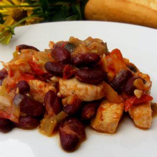 Z jednoho hrnce – mexické fazole