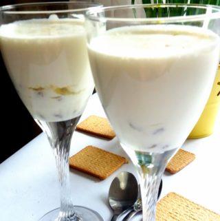 Slavnostní dezert – šampaňský krém