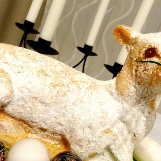 Rodinná tradice – velikonoční beránek