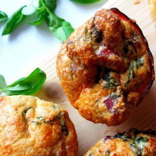 Muffin z uzeného masa
