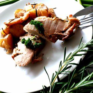Z jednoho hrnce – Toskánská vepřová pečeně